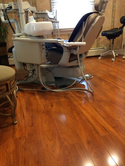 Dental Practice Flooring Installation Dentist img5 416x555