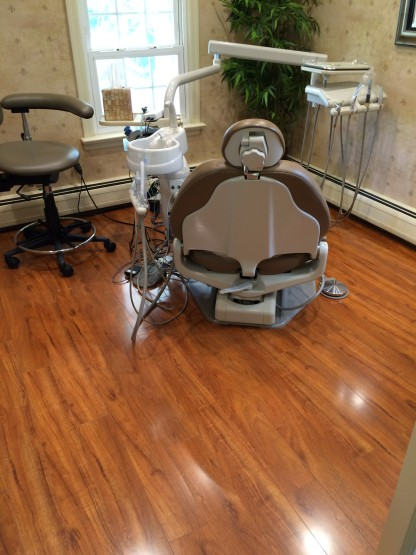 Dental Practice Flooring Installation Dentist img6 416x555