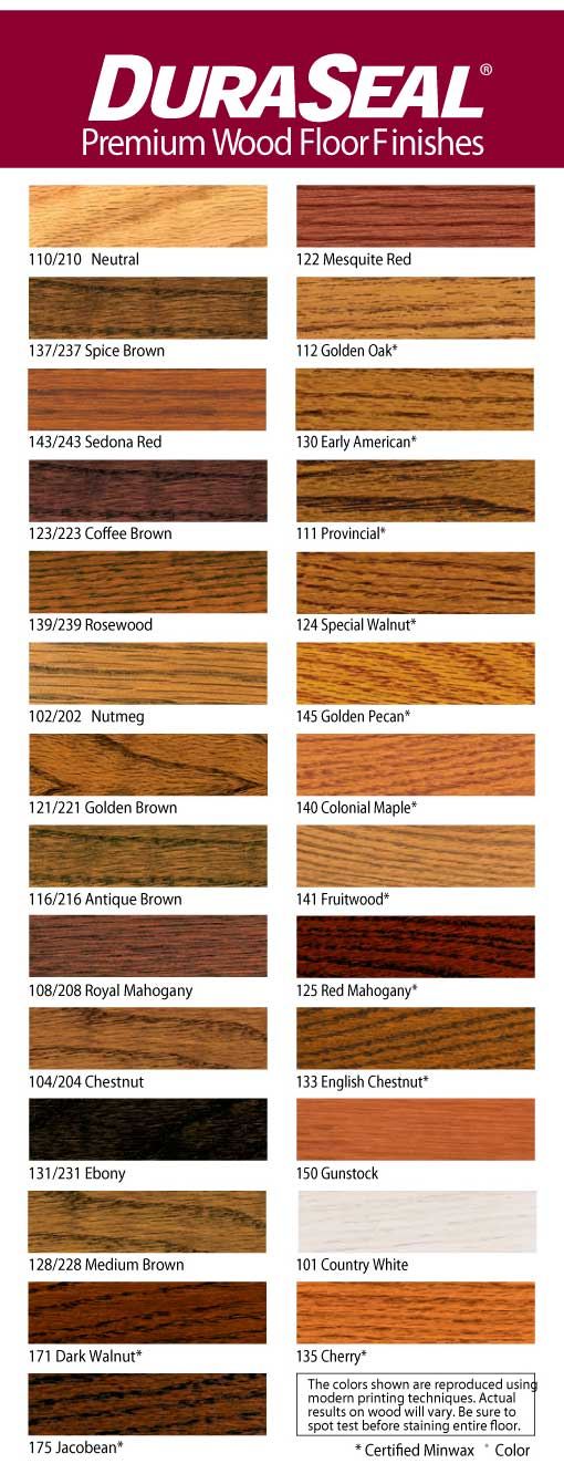 floor staining duraseal chart floor staining Floor Staining duraseal quick coat penetrating finish color chart