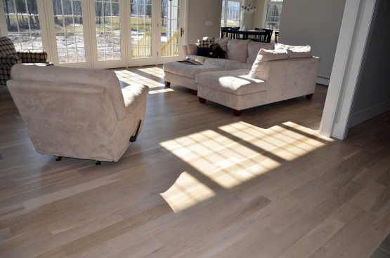 White Oak Plank Flooring Installation Hardwood Floor Installation nj 2 555x368