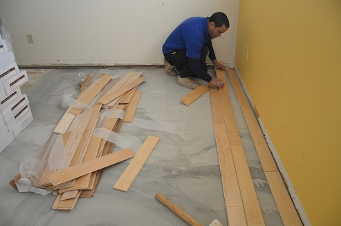How To Install Hardwood Floors On Concrete